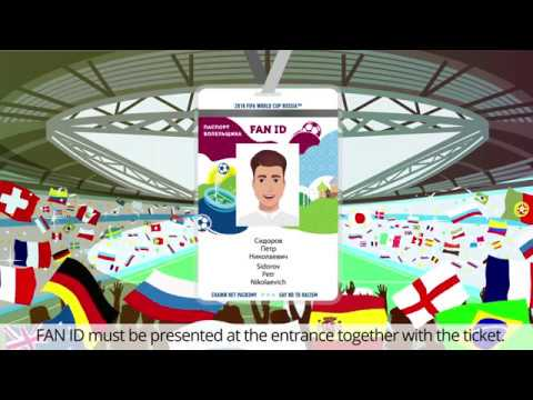 How To Recieve Fan Id For Fifa World Cup  In Russia