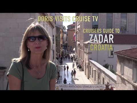 Cruise Guide to Zadar, Croatia. P&O Aurora R717 stops there