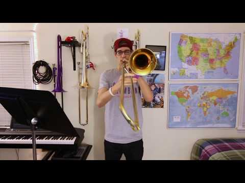 I Can't Give You Anything But Love: Trombone Improvisation