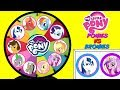 MY LITTLE PONY Ponies VS Bronies Spinning Wheel Game Punch Box Toy Suprises