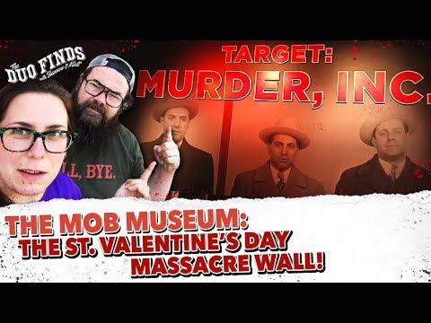 The Mob Museum The St Valentine S Day Massacre Wall Youtube