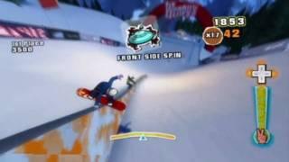 Shaun White World Stage (Wii) Freeride Trickster