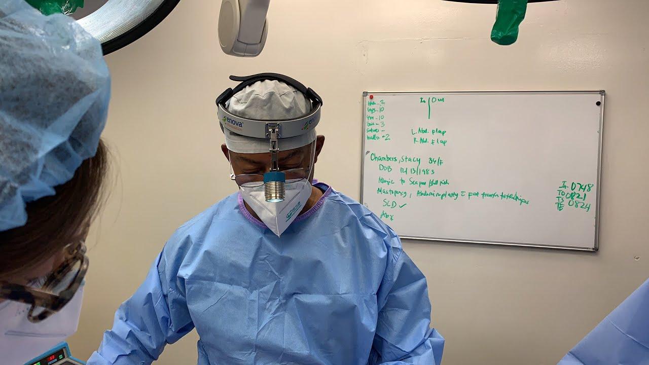 Abdominoplasty/Mastopexy with Dr. Jones pt 01