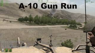 UO Operation Enduring Freedom - A-10 Gun Run