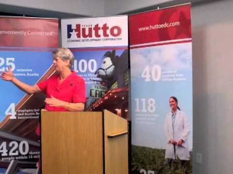 Hutto EDC April 14, 2011 Power Breakfast: Proposed Higher Education Center in Hutto