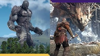10 MASSIVE video game BOSSES you need to beat