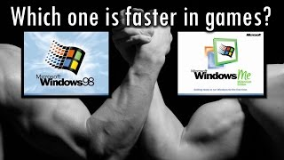 Windows 98 SE vs Windows Millennium Edition - Which is faster and better in games?