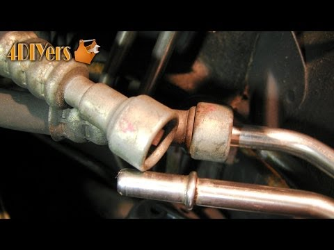 DIY: Removing a Push Lock Fuel Line Fitting