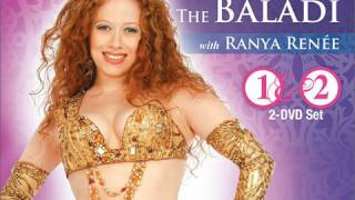 Belly dance Egyptian Style: The Baladi, by Ranya Renée : buy the set at WorldDanceNewYork.com!