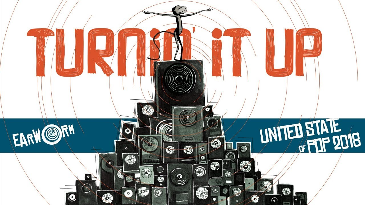 DJ Earworm Mashup - United State of Pop 2018 (Turnin' It Up)