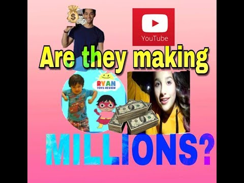 Popular Youtubers earning MILLIONS(our favorites in 2018) thumbnail