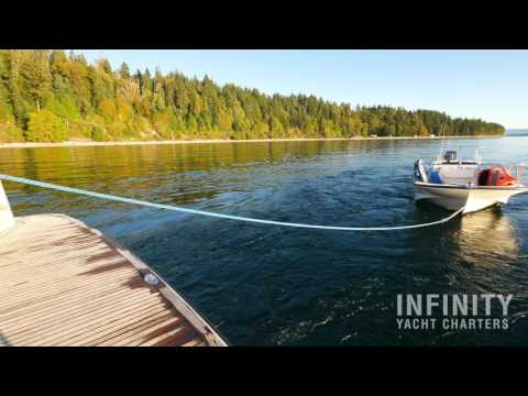 Infinity Yacht Charters - Campbell River - Aerial Flight Photography