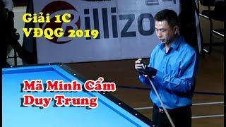 Bida 1 băng Giải VĐQG: Mã Minh Cẩm vs Duy Trung - 당구 1 cushion Billiards
