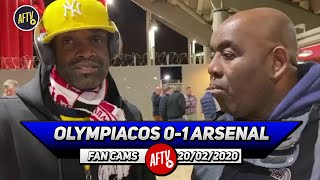 Olympiacos 0-1 Arsenal | Get Saka On A 6 Year Contract Now! (Yardman)