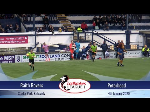 Raith Peterhead Goals And Highlights