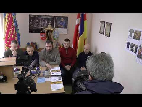 Волинські Новини: Прес-конференція щодо банера про Порошенка | Волинські Новини