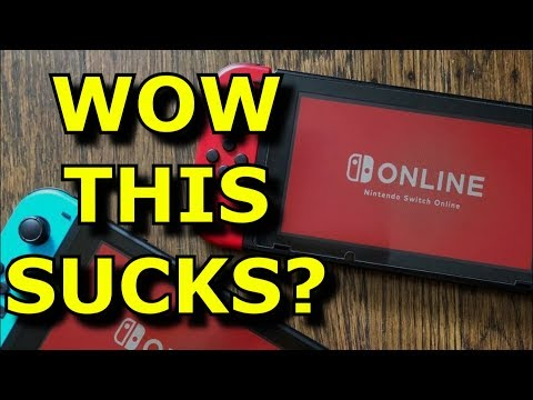Does Nintendo Switch Online Service SUCK? - (NES Games/Broken Screens/Cloud Saves)