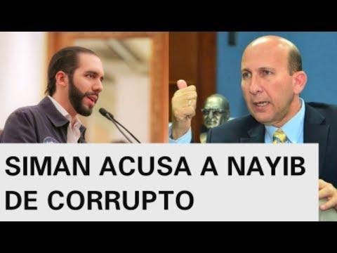 JAVIER SIMAN ACUSA A NAYIB BUKELE DE CORRUPTO EN TELEVISION Y DEJAR LA ALCALDIA EN QUIEBRA