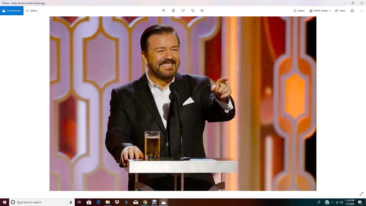 Ricky Gervais Goes After Hollywood