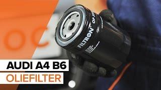 Oliefilter motor veranderen AUDI A4: werkplaatshandboek