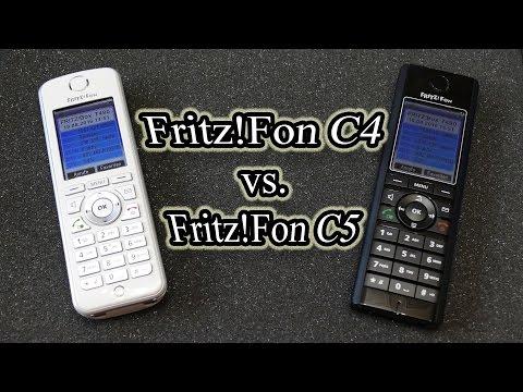 Fritz!Fon C4 vs. Fritz!Fon C5