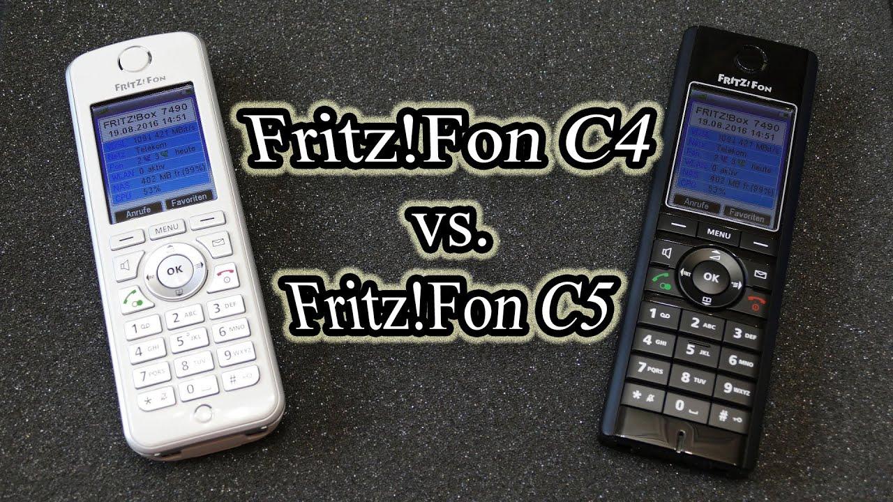 Fritz Fon C4 Vs Fritz Fon C5 Youtube