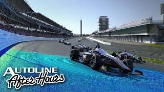 Indy autonomous racer rendering