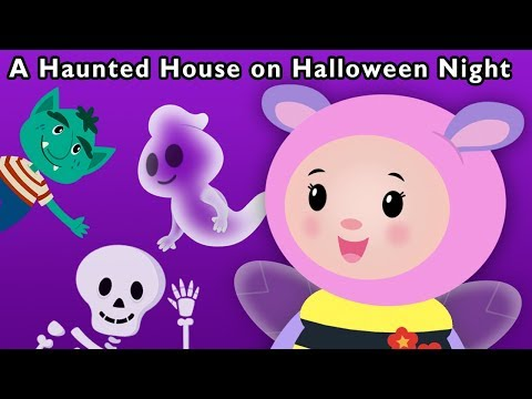 A Haunted House on Halloween Night and More | GHOST FAMILY SONG | Baby Songs from Mother Goose Club!