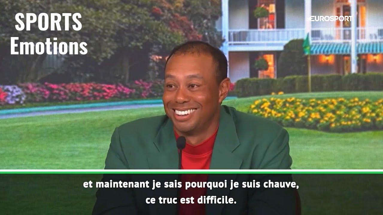 Tiger Woods sait pourquoi il est chauve maintenant...