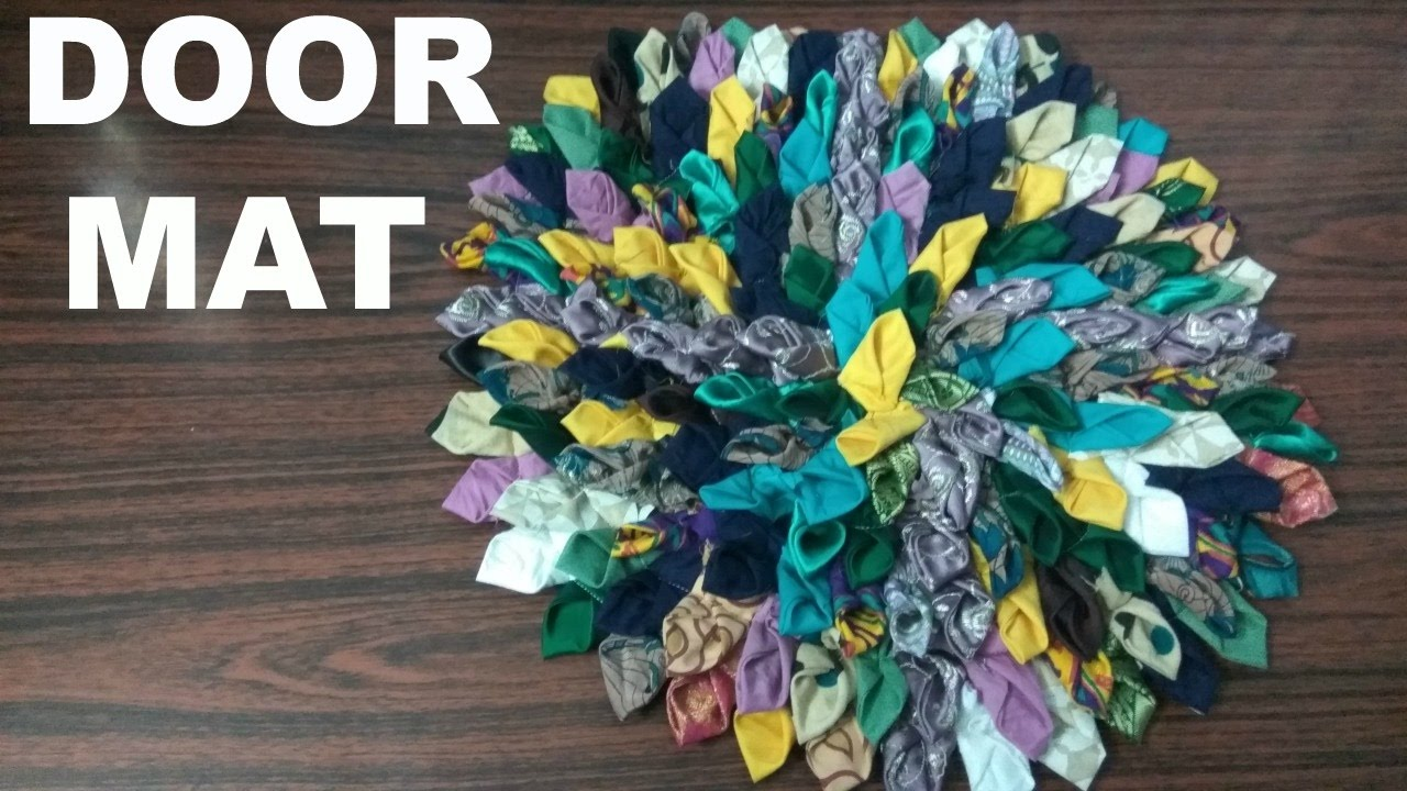 Door Mat from waste clothes & Door Mat from waste clothes - YouTube