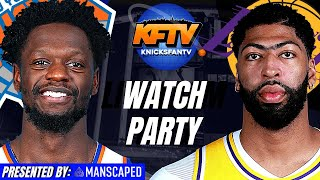 New York Knicks vs Los Angeles Lakers Watch Party | Play-By-Play, Trivia, Live Callers