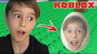 ESCAPE BEING AN EGG IN ROBLOX PLAYING IN THE FAMILY
