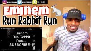 The most underrated Eminem Verse Ever!   Eminem-Run Rabbit Run + Lyrics   REACTION