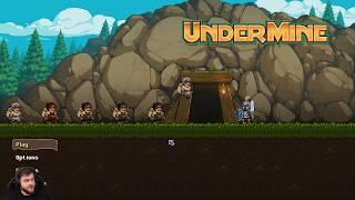 Gra w której jesteśmy górnikiem - Undermine / 26.08.2019 (#1)