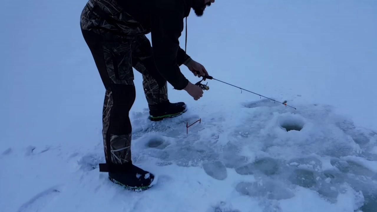 Lowrance elite 4x tips and set up for ice fishing youtube for Ice fishing setup