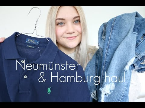 Neumünster outlet & Hamburg haul