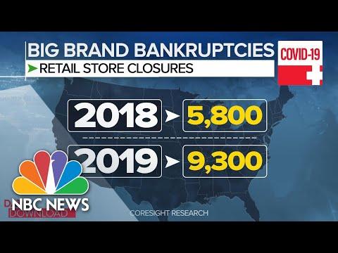 Pandemic Speeds Trend Of Business Closings | Meet The Press | NBC News