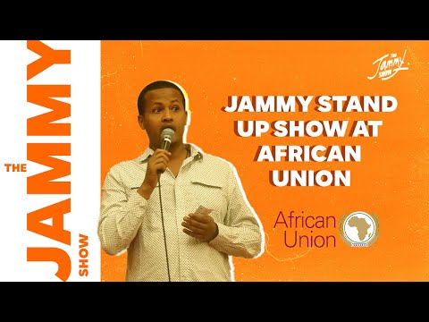 jammys impression stand up at African Union