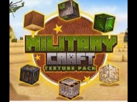 Minecraft : pack de textures Military craft PC - YouTube