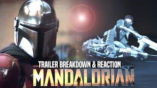 The Mandalorian Trailer! Breakdown & Reaction (New Star Wars TV Series)