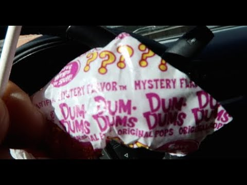 How to Tell What the Dum Dums Mystery Flavor is!!!