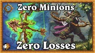 Hearthstone: Zero Losses Rank 4 To 3 - No Minion Hunter