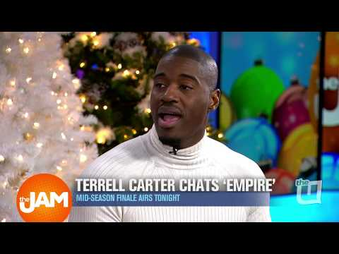 Terrell Carter Chats 'Empire' And Career