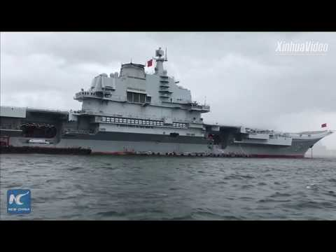 Get aboard China's aircraft carrier Liaoning, anchored outside Victoria Harbour in Hong Kong