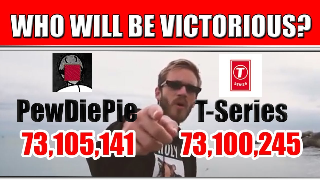 PewDiePie vs T-Series Live Subscriber
