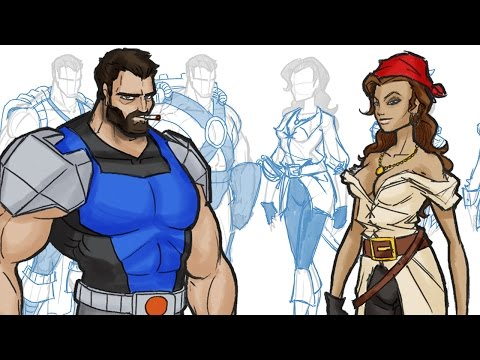 How to Design Outfits/Costumes for your Comic Book and Cartoon Characters