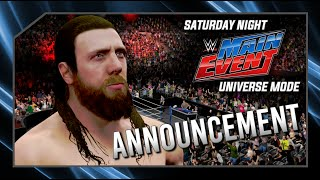 snme universe mode huge announcement for wwe 2k17