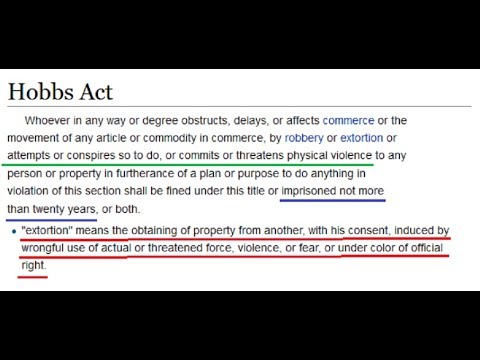 example of the hobbs act youtube