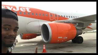 Frist time flying on EasyJet. Budget Airlines. Flight Review