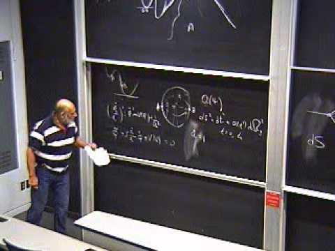 Black Holes & Holography Mini Course -  Lecture 8